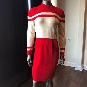 Vintage St. John 1980s knit dress size 6